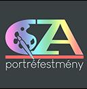 portré festmény logo