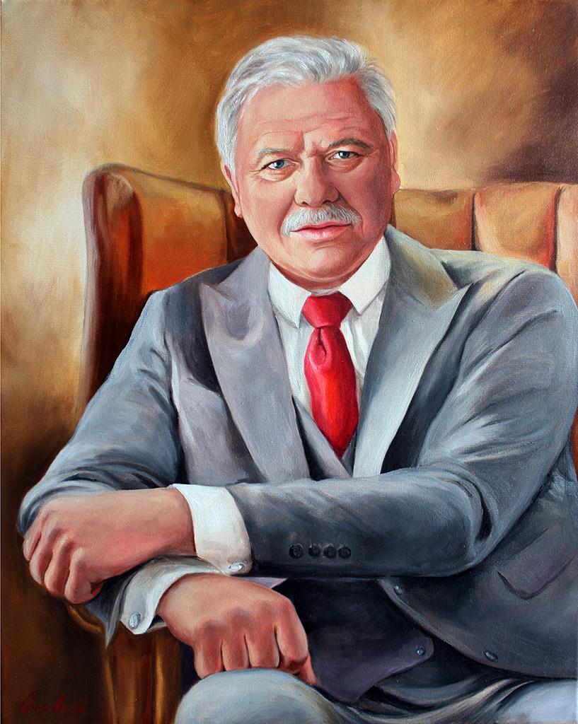 Portré festmény